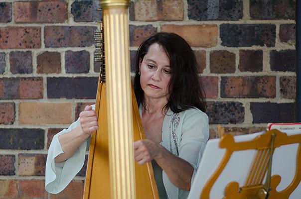 Miriam Weber Brown, Harpist