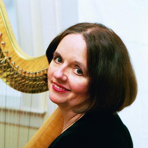 Elizabeth Huntley, Harpist
