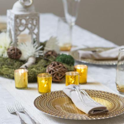 Centerpiece Table Linen and Decor